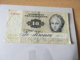 National Bank Dänemark 10 Kroner (Serie 1927) - Danimarca
