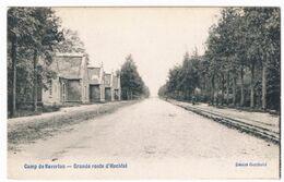 Camp Van Beverloo - Grande Route D'Hechtel 1908   (Geanimeerd) - Leopoldsburg