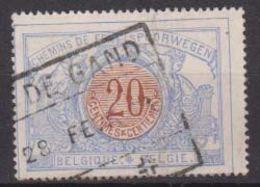 België/Belgique OBP Nr TR/SP/CF30 Lijn/ligne Gent-Terneuzen Afgestempeld/cachet Sas De Gand .Zie/voir Scan - Railway