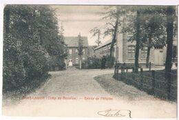Bourg-Léopold - Entrée De L'Hôpital 1904  (Geanimeerd) - Leopoldsburg