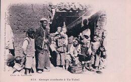 Indochine, Vietnam, Groupe D'enfants à Ta-Tchaï (873) - Viêt-Nam