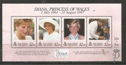 Solomon Islands - 1997 Princess Diana S/sheet  MNH ** - Salomon (Iles 1978-...)