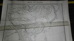 CHINE ET JAPON / OLD CARD !!........._____ LOT 9 - Maps