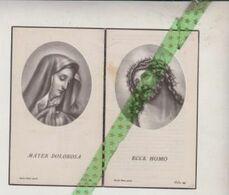 Petrus De Langhe-Fonck, Ressegem 1897, Brussel 1952 - Avvisi Di Necrologio