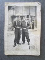 2 YOUNG SOLDIERS, 2 JEUNES SOLDATS, ORIGINAL PHOTO - Personnes Anonymes