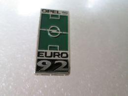 PIN'S   OPEL  EURO 92 - Opel