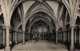 Paris La Crypte De La Sainte Chapelle - Eglises