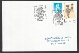 Chess, Spain Linares, Feb 1993, Cancel On Envelope, International Tournament - Spiele