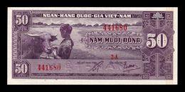 South Vietnam Del Sur 50 Dong 1952 Pick 7 SC UNC - Vietnam