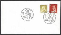 Chess, Spain Santander, 19.08.1994, Cancel On Envelope, 29th Stamp Exhibition - Spiele