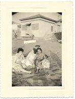 PHOTO - FORT DE L EAU (Algérie) - Jeunes Femmes  - Ft 10,5 X 8 Cm - Lieux
