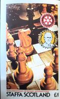 Games Chess, Bloc Imperfect  Mnh Staffa Scotland - Spiele