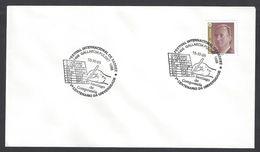 Chess, Spain Santiago De Compostela, 15.11.1995, Special Cancel On Envelope - Spiele