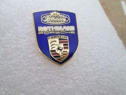 RARE TOP  PIN'S    PORSCHE  ROTHMANS   19X23mm  Email Grand Feu - Porsche