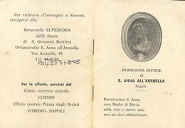 Libretto S. Anna All'Arenella (NA) Prodigiosa Effigie (814) - Livres, BD, Revues