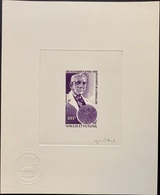 Artist Proof Wallis&Futuna Nobel Prize Fleming / Epreuve D'Artiste Prix Nobel - Nobel Prize Laureates