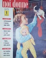 Rivista Delle Donne Italiane - Noi Donne N. 1 - 1957 - Libros, Revistas, Cómics