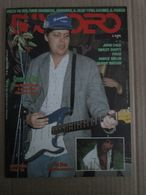 - ITALIAN MAGAZINE BUSCADERO N 98 / 1989 PAUL MC CARTNEY MILANO PALATRUSSARDI - Musica