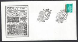 Chess, Spain Las Palmas, December 1996, Cancel On Envelope, Exhibition - Spiele