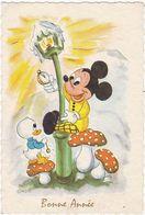Voeux : Nouvel An : Mignonnette : Bonne Année : Mickey - Walt Disney ( Aucune Référence  ) - Disney