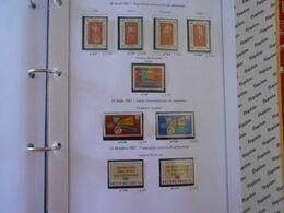 NATIONS-UNIES SIEGE DE NEW-YORK YT 165/173 Vente Par Page D'album (timbres Seuls)** - New-York - Siège De L'ONU