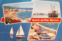 Cartolina - Saluti Da Vibo Marina - 1969 - Vibo Valentia