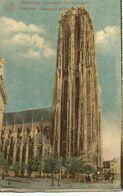 MECHELEN « Hoofdkerk Sint Rombauds » - Uitg., E. Baeyens-Buelens, Mechelen - Malines