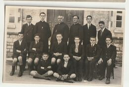 Petit Séminaire De Rimont 71 - Classe De Cinquième 1930-1931 - M. Le Chanoine Merle, Supérieur - Personnes Identifiées