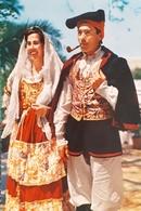 Cartolina - Costumi Sardi - Quartu S. Elena - 1958 - Cagliari