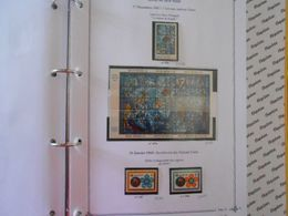 NATIONS-UNIES SIEGE DE NEW-YORK YT 174/176 + BF4 Vente Par Page D'album (timbres Seuls)** - New-York - Siège De L'ONU