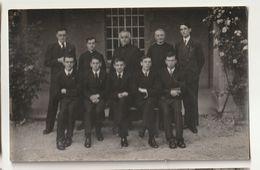 Petit Séminaire De Rimont 71 - Rhétorique 1934-1935 - M. Le Chanoine Merle, Supérieur - Personnes Identifiées