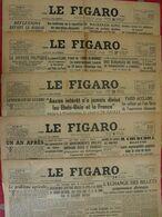 5 N° Du Journal Le Figaro De 1945. De Gaulle Résistance Brigandage Laval Staline Churchill Syrie Liban Japon Suicide Ley - Journaux - Quotidiens