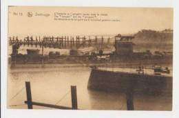AJ54 Zeebrugge, World War I, Ships Sunk In The Canal, Intrepide And Iphigenir - Zeebrugge