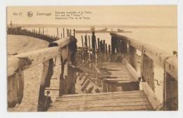 AJ54 Zeebrugge, World War I, Burnt Down Pier And Thetis - Zeebrugge