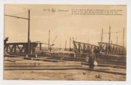 AJ54 Zeebrugge, World War I, Bridge Over The Bruges To Zeebrugge Canal - Zeebrugge