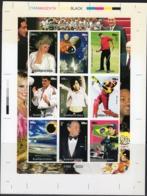 Guinea 1998, XXth Century, Diana, Space, Golf, Judo, Cricket, Eclipse, Concorde, CROMOLITE - Concorde