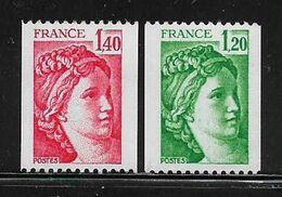 FRANCE  ( FR8 - 38 )  1980  N° YVERT ET TELLIER  N° 2103/2104   N** - Nuevos