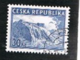 """REP. CECA (CZECH REPUBLIC) - SG MS182  - 1998 """"PRAGA '98"""" INT.STAMP EXN.:VYSEHRAD  (FROM BF)   -   USED - Tschechische Republik"""