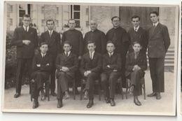 Petit Séminaire De Rimont 71 - Classe De Seconde 1933-1934 - M. Le Chanoine Merle, Supérieur - Photos