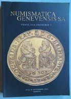 NUMISMATICA GENEVENSIS / 2004 CATALOGUE # 3 - 1330 LOTS(ref CAT118) - Books & Software