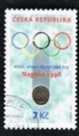 REP. CECA (CZECH REPUBLIC) - SG 177 - 1998 WINTER OLYMPIC GAMES  -   USED - Tschechische Republik