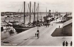 AN58 Sundsvall, Hamnen - Harbour, Ships - Suecia