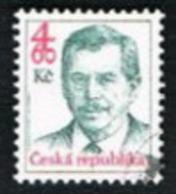 REP. CECA (CZECH REPUBLIC) - SG 179 - 1998 PRESIDENT V. HAVEL 4,60  -   USED - Tschechische Republik