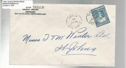36249 ) Canada Newfoundland Cover Postal History - 1908-1947