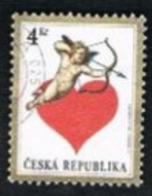 REP. CECA (CZECH REPUBLIC) - SG 180 - 1998 ST. VALENTINE DAY -   USED - Tschechische Republik