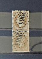 07 - 20 - France N°21 Oblitéré GC 2964  - Pontarlier -  Jura - 1862 Napoléon III