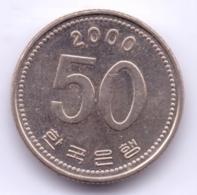 S KOREA 2000: 50 Won, KM 34 - Korea, South