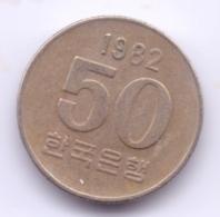 S KOREA 1982: 50 Won, KM 20 - Korea, South
