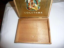 Boite à Cigares Bois Cogétama IDYLLE - Boites à Tabac Vides