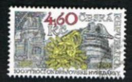 REP. CECA (CZECH REPUBLIC) - SG 184 - 1998 ONDREJOV OBSERVATORY CENTENARY -   USED - República Checa